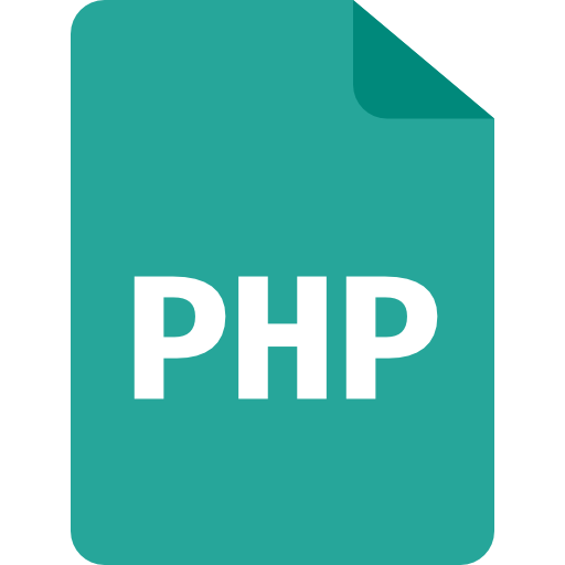 php coding language icon